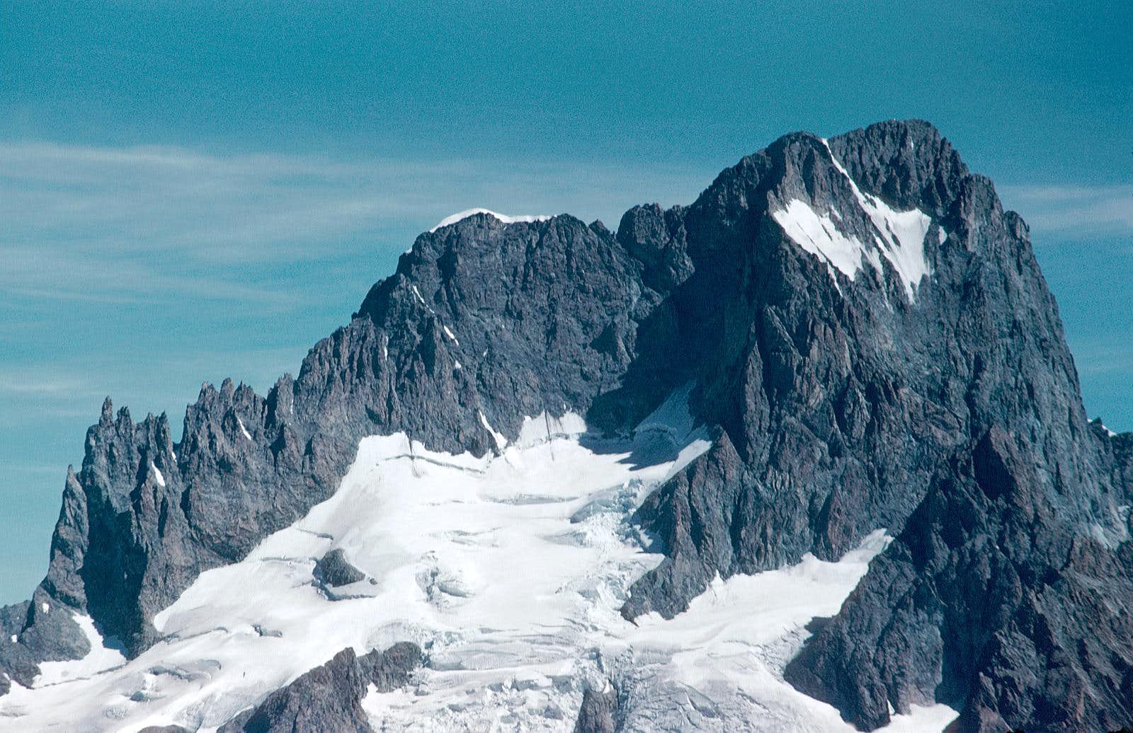 Les Ecrins south-west face