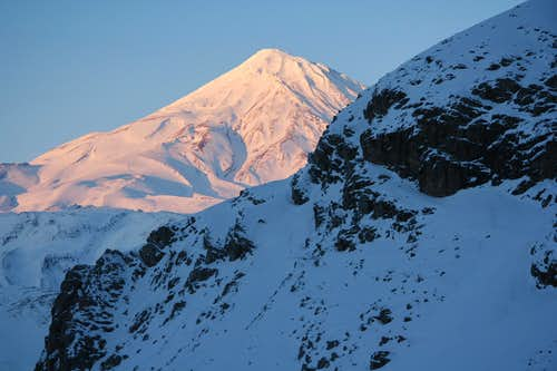 Damavand winter