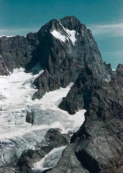 Glacier du Vallon de la Pilatte