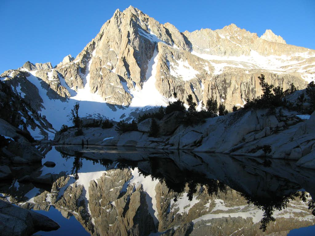 Picture Peak morning reflection