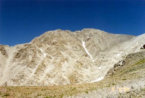View of Borah from the Ridge
