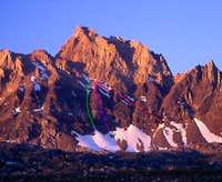 Mount Humphreys Southwest Face Variations