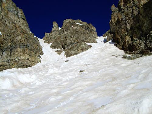 6-9-2007, South Couloir - Cathedral Peak