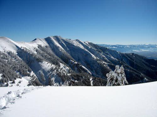 The Bridger Mts