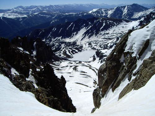 6-9-2007, South Couloir, Cathedral Peak