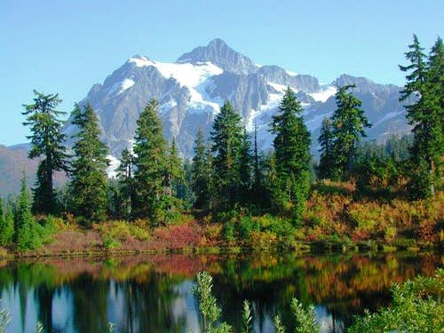 Mt Shuksan from the Picture...