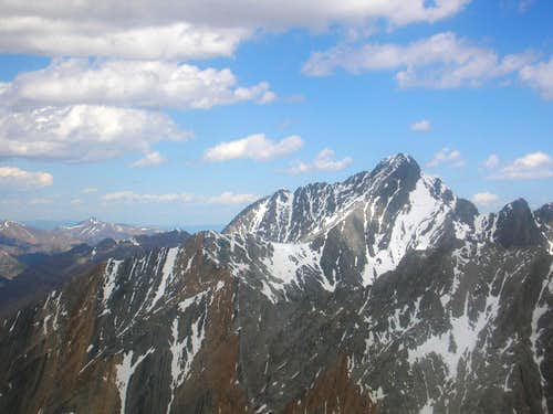 Borah from Mt. Idaho
