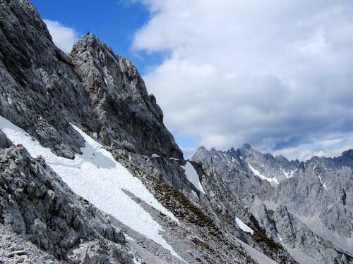 Goetheweg Trail, above the Karwendel park