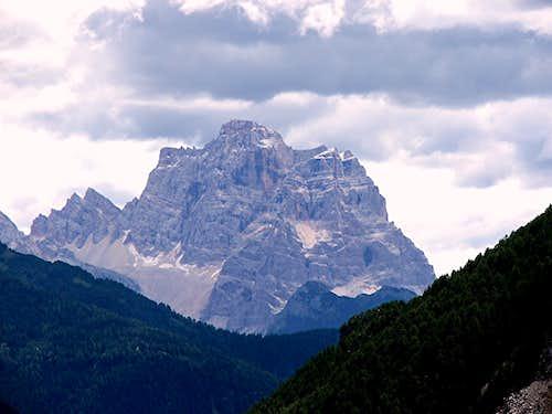 Mte. Pelmo from Livinallongo