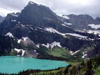 Grinnell Lake, Gem Glacier