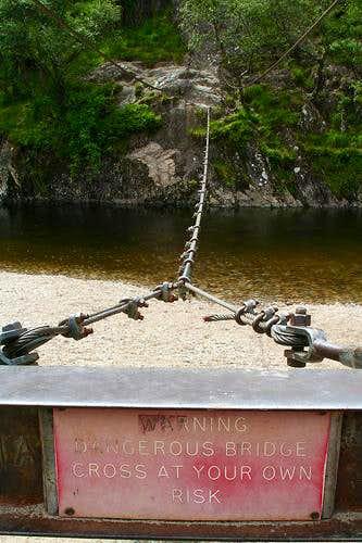 The wire bridge