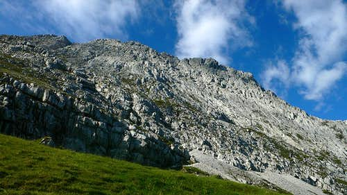 The Obere Wettersteinspitze