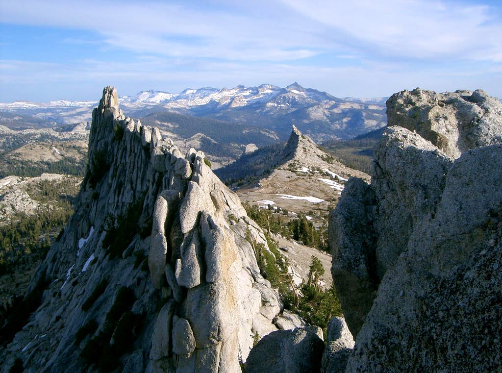 South Summit of Tresidder Peak.