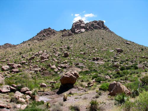 Point 5833 in the Doña Ana Mountains