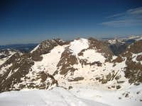 Mount Eolus from Windom