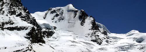 La parete nord del Gran Paradiso (4061m)