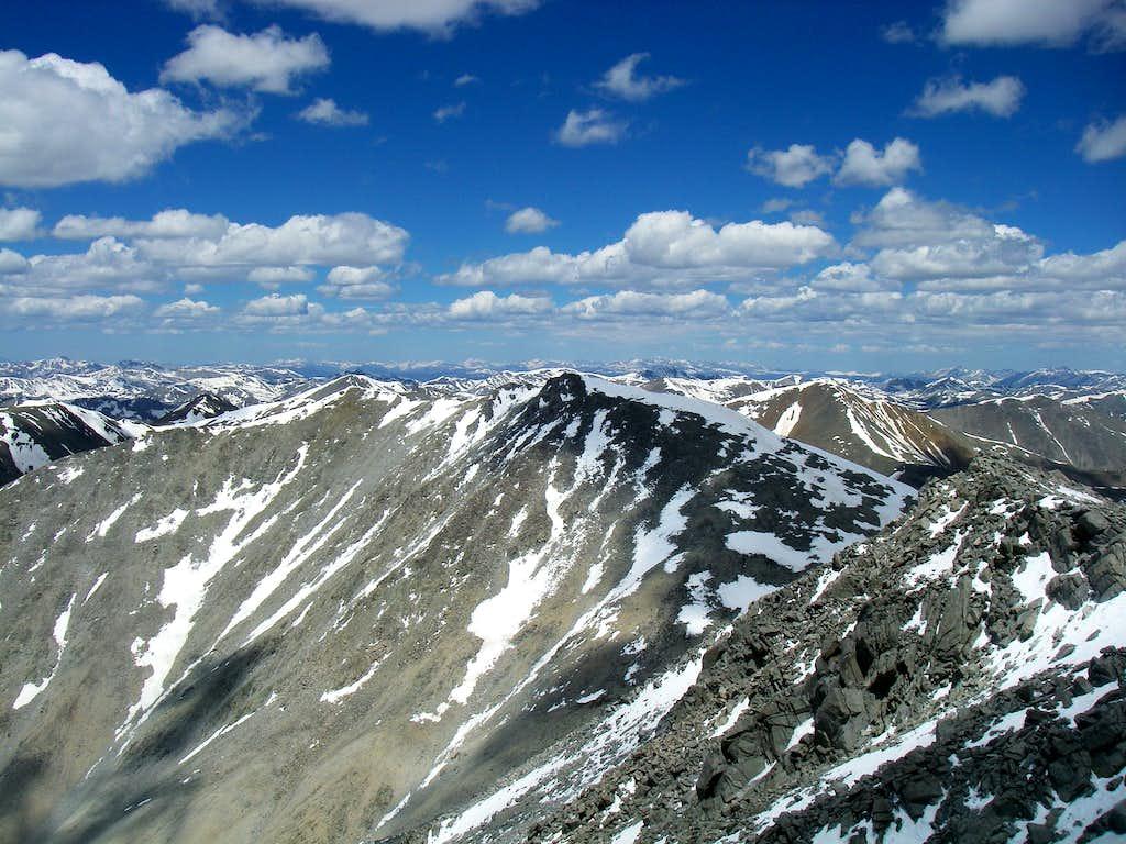 Tabeguache Pk (from Mt Shavano)
