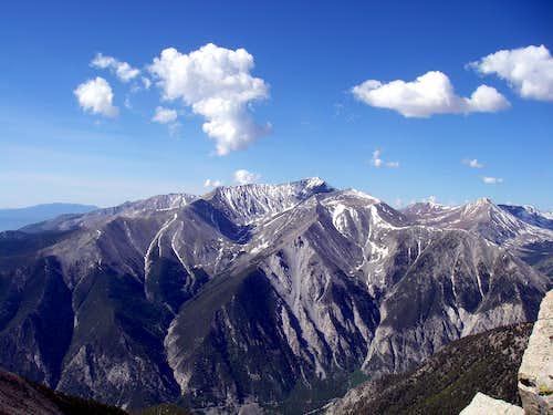 Mt Antero (from Mt Princeton SE Ridge)