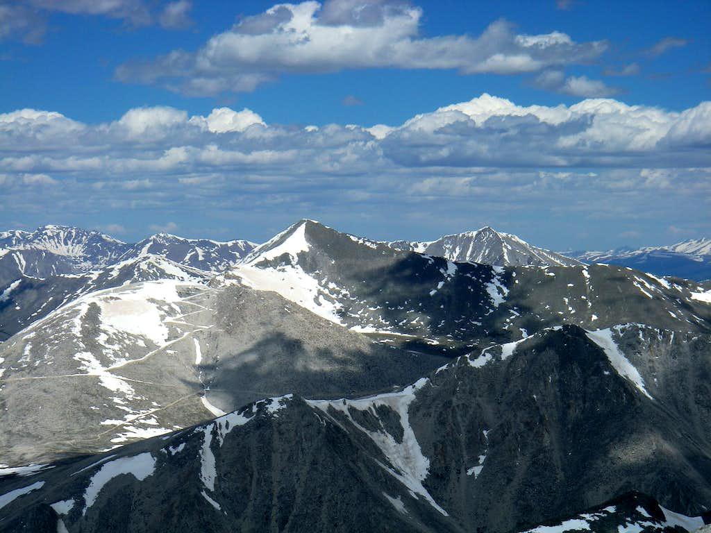 Mt Antero (from Mt Shavano)
