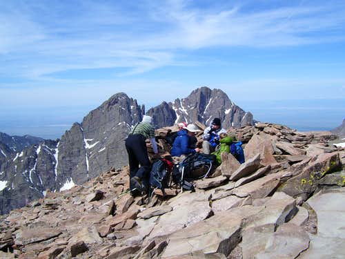 Humboldt Peak:   Talus Monkey Memorial Climb June 16-17
