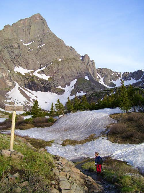 Approach to Humbolt Peak