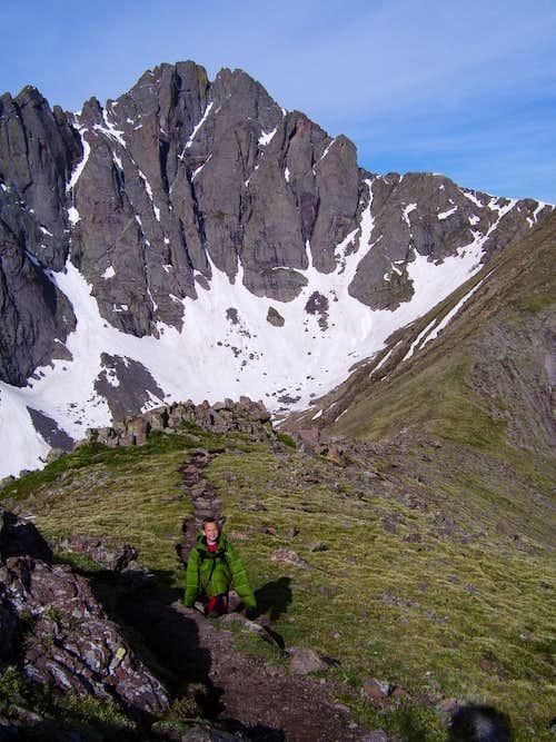 Climbing Humboldt