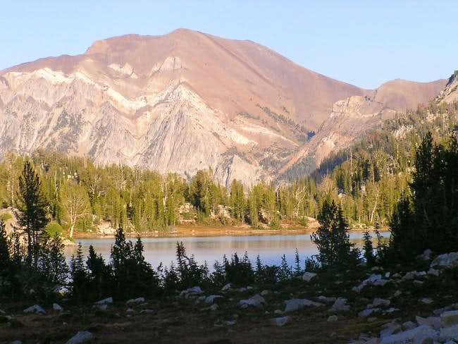 Petes Point above Mirror Lake.