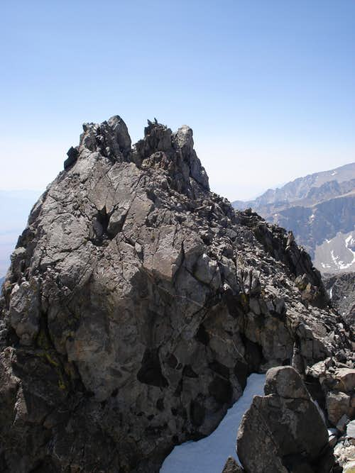 Dragon Peak to Mount Gould Traverse