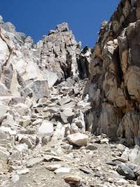 Chute to Summit Ridge