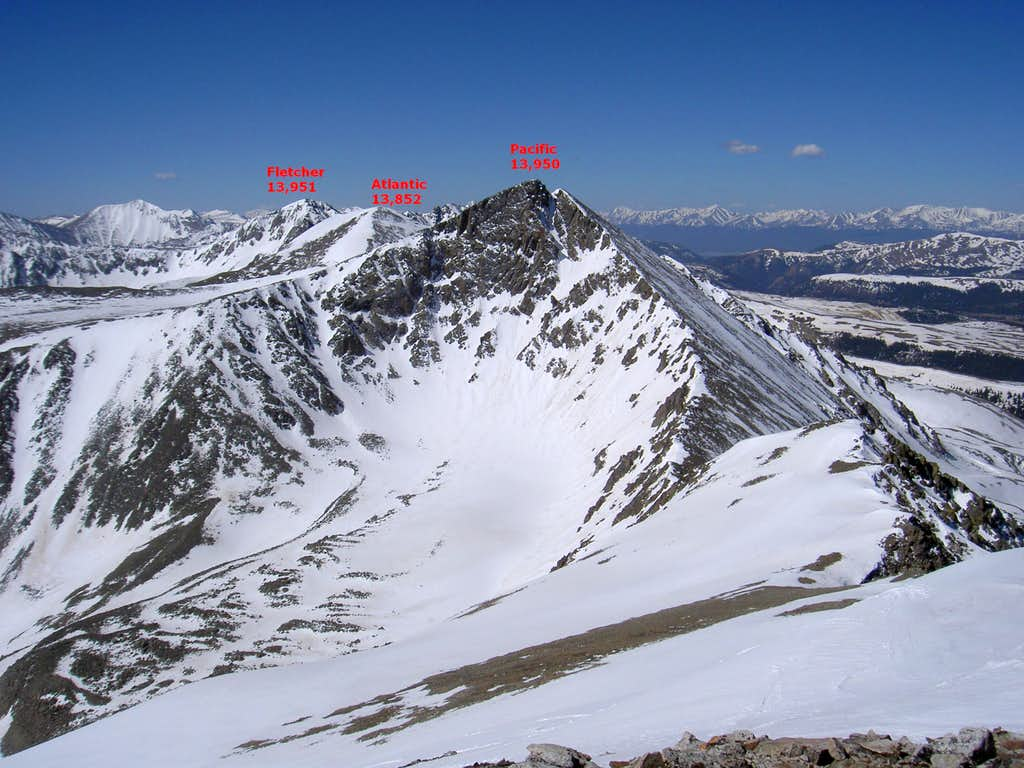 View South from summit