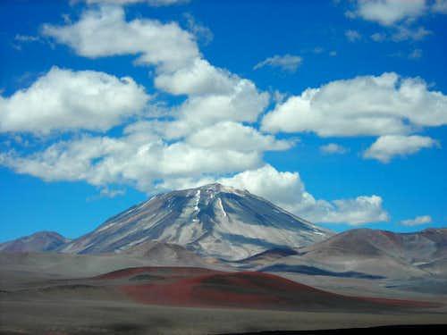 Cerro Incahuasi (6621m)