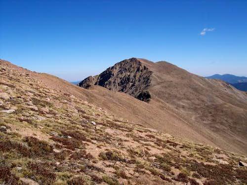 Sept 27, 2003 Bard Peak from...