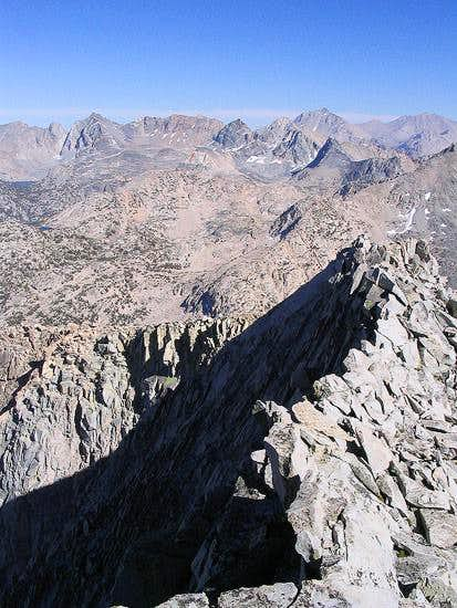 South ridge of Mt. Cotter