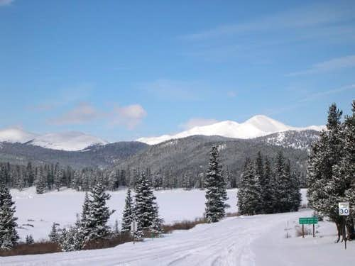 March 1, 2002 Bard Peak from...