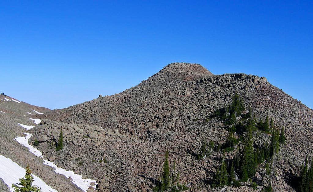Leon Peak summit