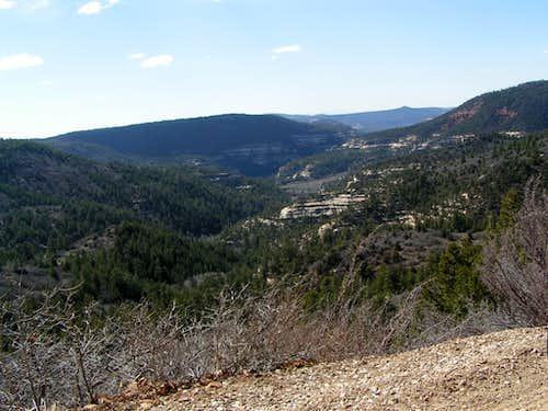 Upper Dark Canyon, UT