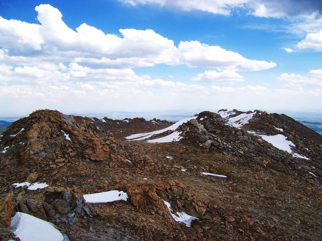 Mount Nystrom summit