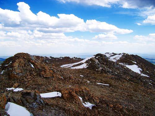 Mount Nystrom summit
