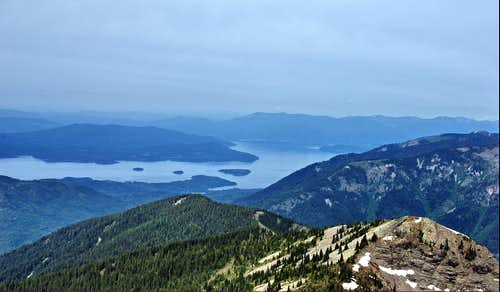 Lake Pend Oreille  from Scotchman Peak