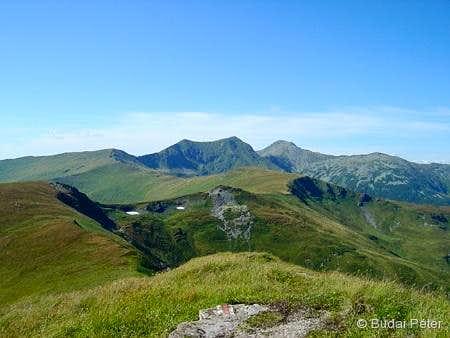Pietrosu and Buhăescu peaks