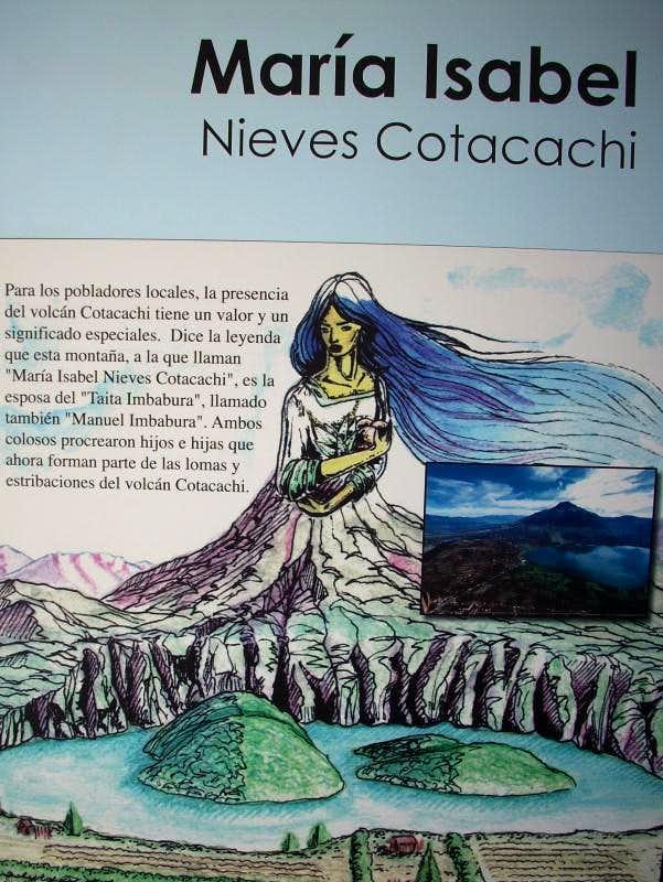 Legend about Volcano Cotacachi