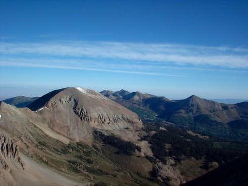 Mount Mellenthin as seen from...