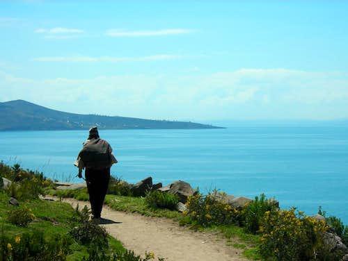 Lago Titicaca - Isla Taquile 02