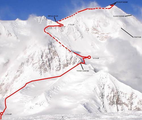 Denali\'s West Buttress