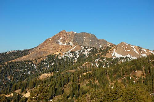 Brokeoff Mt from Bumpass Hell area
