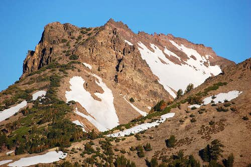 Mt. Diller from the Bumpass Hell area
