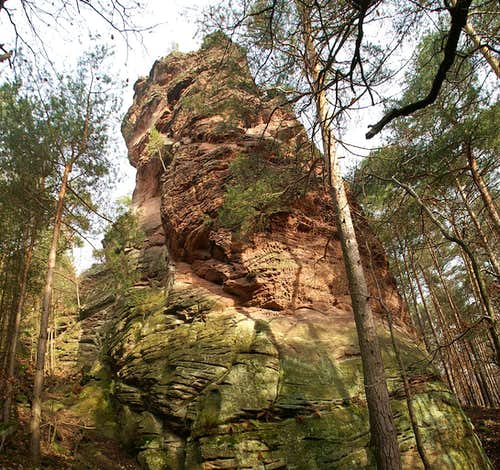 Höllenfelsen South Face