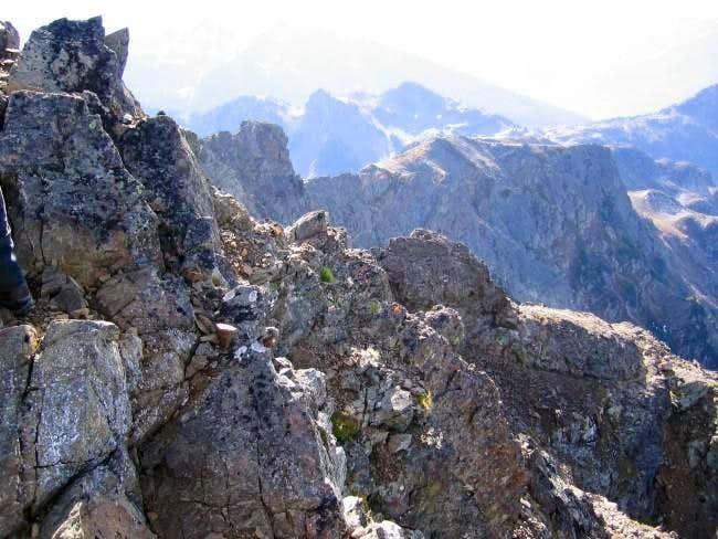 View fof the south ridge...