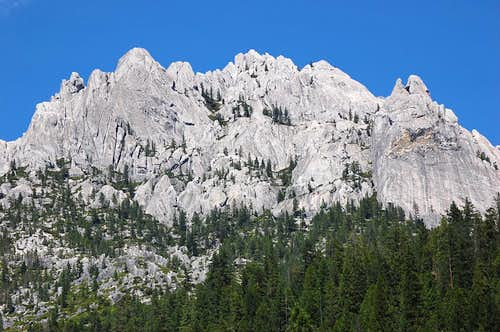 Castle Crags from the SW