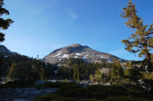 Lassen Peak from Bumpass Hell area